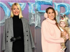 Holly Willoughby and Stacey Solomon (PA)