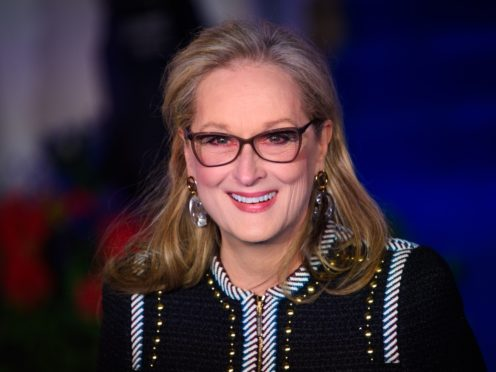 Meryl Streep chows down on fries in Little Women behind the scenes snap (Matt Crossick/PA)