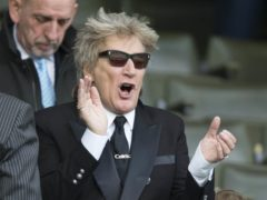 Sir Rod Stewart is the oldest male solo artist to have a number one album in the UK (Jeff Holmes/PA)