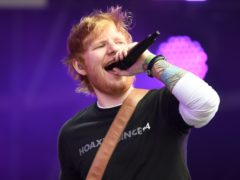 Ed Sheeran's manager has given evidence in the trial of two men over the resale of concert tickets (Ben Birchall/PA)