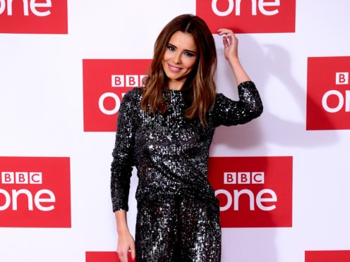 Cheryl attending The Greatest Dancer photocall (Ian West/PA)