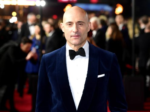 Mark Strong attending the 1917 World Premiere at Leicester Square (Ian West/PA)