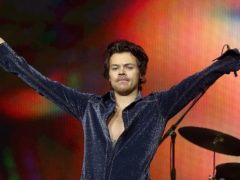 Harry Styles performs on stage during day one of Capital's Jingle Bell Ball (Isabel Infantes)