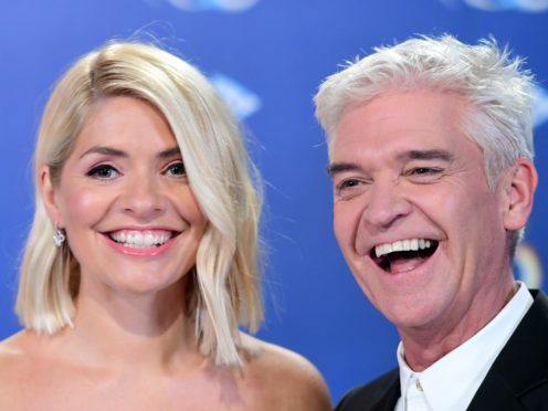 Holly Willoughby and Phillip Schofield host Dancing On Ice (Ian West/PA)
