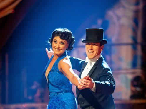 Emma Barton and Anton Du Beke (Guy Levy/BBC)