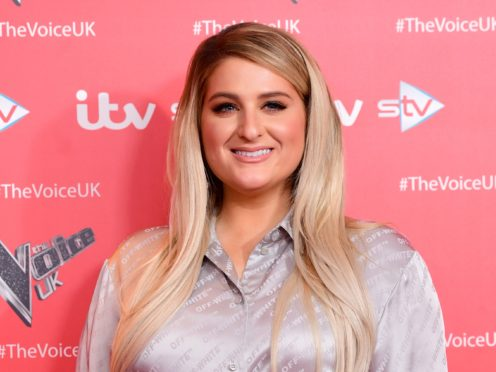 Meghan Trainor admits to fears and being intimidated when joining The Voice UK (Ian West/PA)