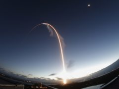 The Starliner capsule was launched into space on board an Alliance Atlas V rocket (Terry Renna/AP)