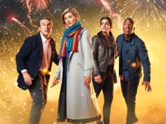 Bradley Walsh, Jodie Whittaker, Mandip Gill and Tosin Cole in Doctor Who (Henrik Knudsen/BBC Studios/PA)