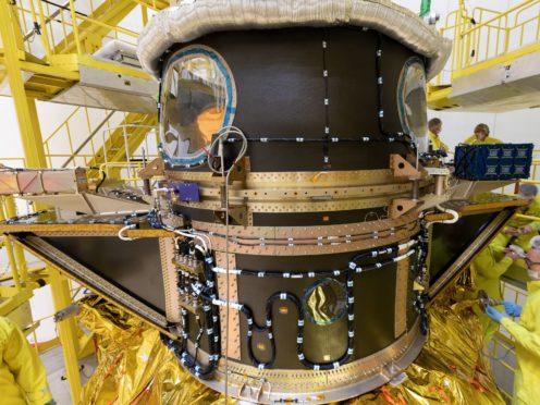 The Cheops satellite (ESA/AP)