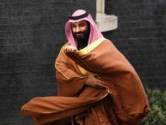 Crown Prince Mohammed Bin Salman (Victoria Jones/PA)