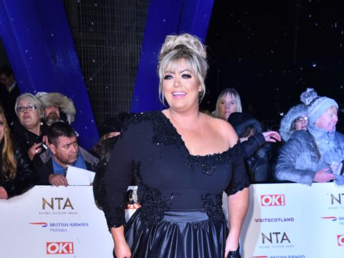 Gemma Collins (Matt Crossick/PA)