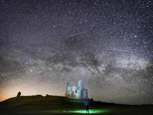 The researchers believe the galactic merger of Gaia-Enceladus and Milky Way began around 11.6 billion years ago (Owen Humphreys/PA)