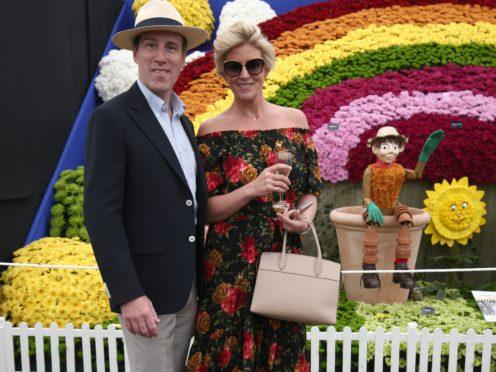 Anton du Beke and wife Hannah Summers (Yui Mok/PA)