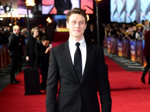 George MacKay (Ian West/PA)