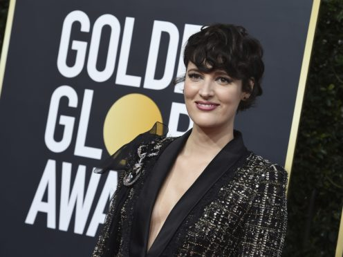 Phoebe Waller-Bridge's outfit she wore for the Golden Globes has been placed for sale on eBay with the money going towards fighting wildfires in Australia (Jordan Strauss/Invision/AP)