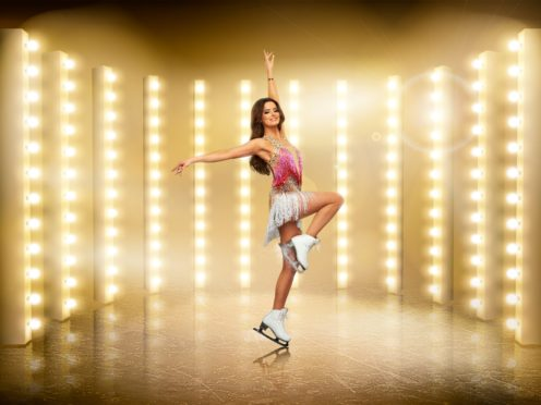 Maura Higgins wants to go far in Dancing On Ice (ITV)