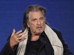 Al Pacino has described working on his upcoming TV series, in which he plays a leading Nazi hunter in 1970s New York City, as a 'wonderful experience' (Willy Sanjuan/Invision/AP)