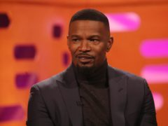 Jamie Foxx being filmed for The Graham Norton Show (Isabel Infantes/PA)