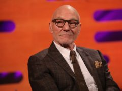 Sir Patrick Stewart during filming for The Graham Norton Show (Isabel Infantes/PA)