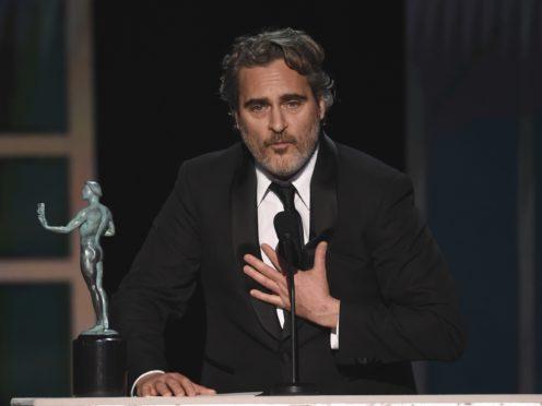Phoenix picked up a best actor award (Chris Pizzello/AP)