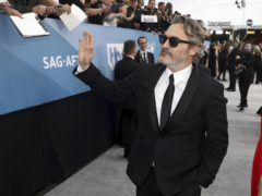 Joaquin Phoenix took home an award (Matt Sayles/Invision/AP)