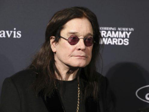 Ozzy Osbourne joins stars at pre-Grammy gala (Mark Von Holden/AP/PA)