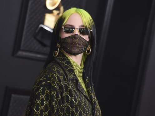Billie Eilish was the big winner at the Grammys on a night marred by tragedy (Jordan Strauss/Invision/AP)