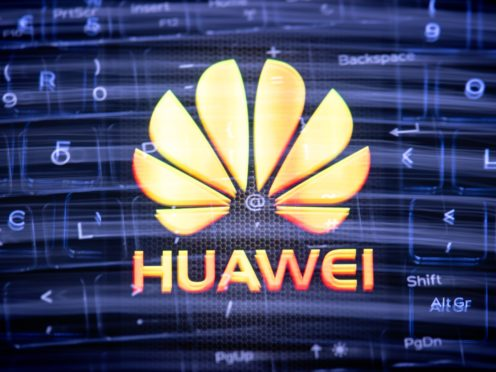 Tensions are rising between Washington and London over Britain's decision to allow China's Huawei to take part in its 5G roll-out (Yui Mok/PA)