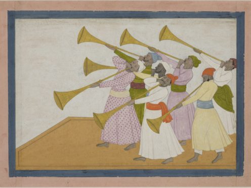 The Trumpeters, by Nainsukh of Guler (British Museum/PA)