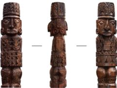 The Pachacamac idol, an Inca god (Sepulveda et al, 2020/PA)