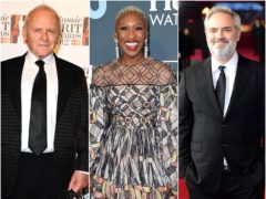 Sir Sam Mendes, Sir Anthony Hopkins and Florence Pugh are among the British Oscar nominees but there is mounting anger over a lack of diversity among the contenders (PA)