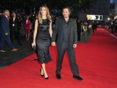 Amber Heard and Johnny Depp (Jonathan Brady/PA)
