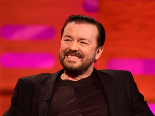 Ricky Gervais is known for his sharp jibes when presenting the Golden Globes (Ian West/PA)