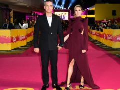 Robbie Williams and Ayda Field Williams (Ian West/PA)