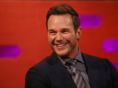 Chris Pratt will star in the third Jurassic World film, which is called Dominion (Isabel Infantes/PA)