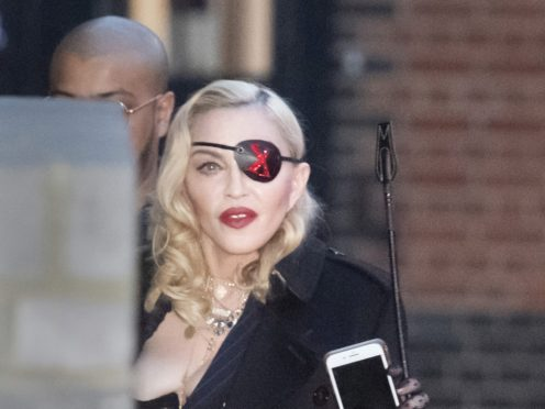Madonna was performing her Madame X show at the London theatre (David Mizoeff/PA)