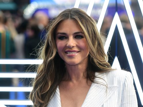Elizabeth Hurley has previously had high-profile relationships with actor Hugh Grant, Australian cricketer Shane Warne and was married to businessman Arun Nayar from 2007 until 2011 (Ian West/PA)