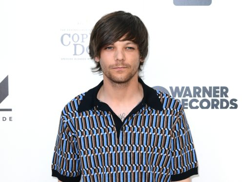 Louis Tomlinson attending the As It Was Premiere at Alexandra Palace Theatre, London (PA)