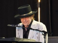 Bob Dylan performs during the British Summer Time festival at Hyde Park in London (Isabel Infantes/PA)