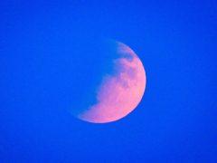 The Moon (Ben Birchall/PA)