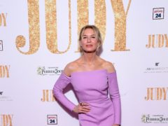 Renee Zellweger is nominated for the leading actress award (Ian West/PA)