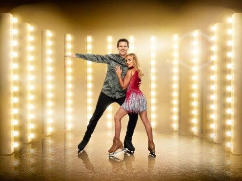 Kevin Kilbane and Brianne Delcourt (Matt Frost/ITV)