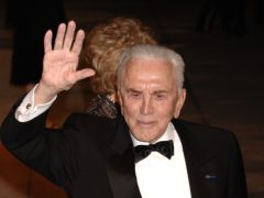 Tributes have been paid to Hollywood great Kirk Douglas, who has died at the age of 103 (Yui Mok/PA)