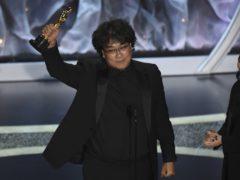 Bong Joon-ho won best director (Chris Pizzello/AP)