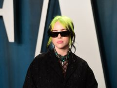 Fans have tipped Billie Eilish for Oscars success after hearing her haunting James Bond track No Time To Die (Ian West/PA)