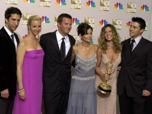 The cast of Friends are reuniting for an unscripted special (AP Photo/Reed Saxon, file)