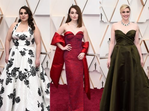 Old Hollywood glamour appeared a popular trend at this year's Oscars (AP)