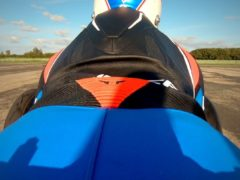 Top Gear presenter Freddie Flintoff crashed at Elvington Airfield (Top Gear/BBC/PA)
