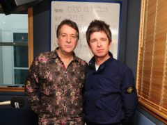 Pete Mitchell and Noel Gallagher (Ian West/PA)