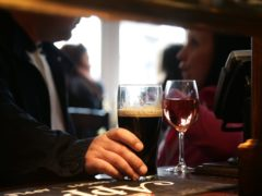 Heavy drinking into older age adds up to 4cm (1.6in) to the waistline, new research suggests (Yui Mok/PA)